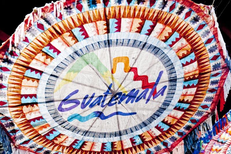Papierdrachen in Antigua, Guatemala lizenzfreie stockbilder