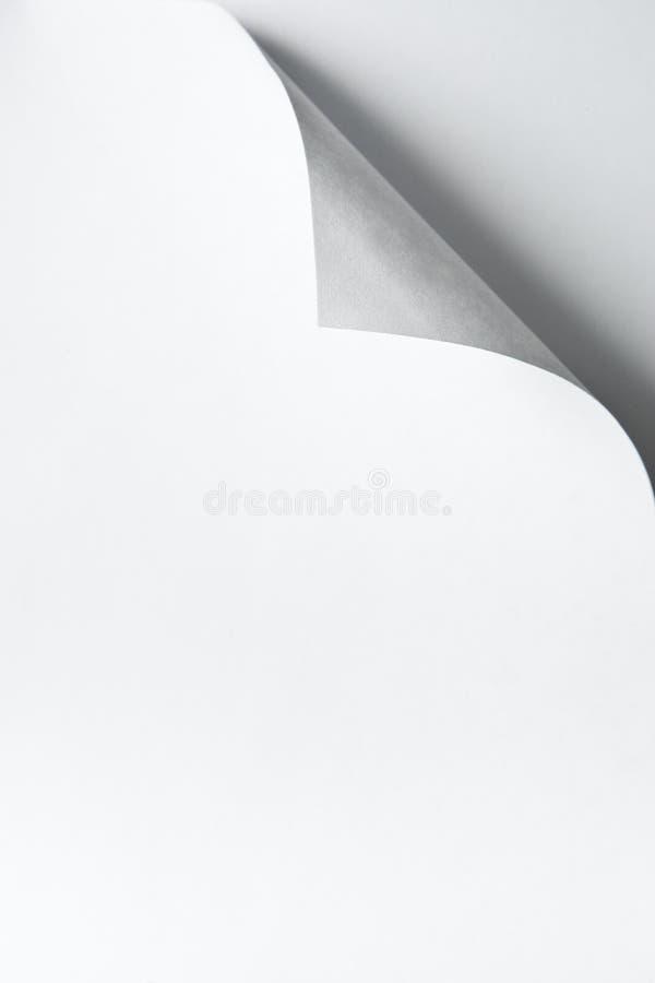 Papiereckrotation lizenzfreies stockbild