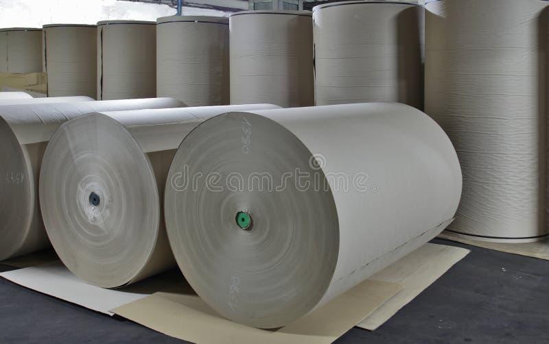 Papierfabriek - Document Voorraad stock afbeeldingen