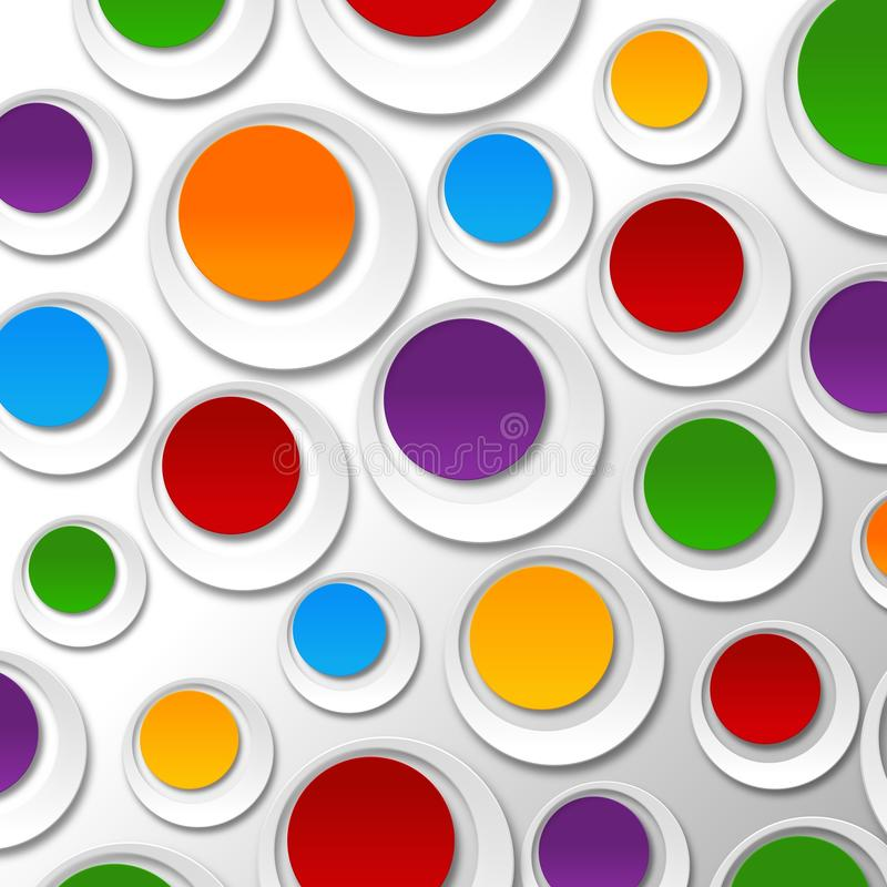 Papierfarbenblasen