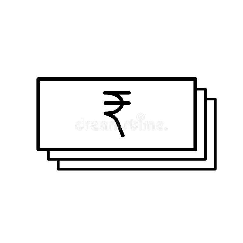 Papiergeldroepie vector illustratie