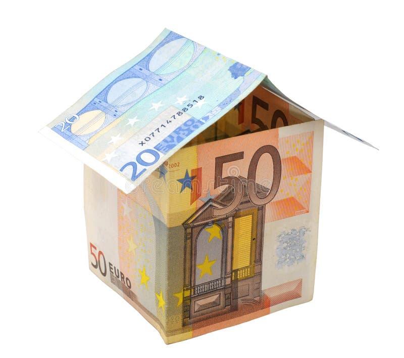 Papierhaus Lizenzfreies Stockfoto