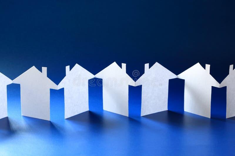Papierkettengemeinschaft stockfotos