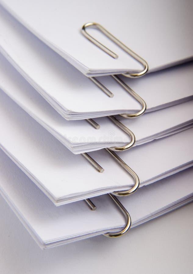 Papierklammern 12 stockbild