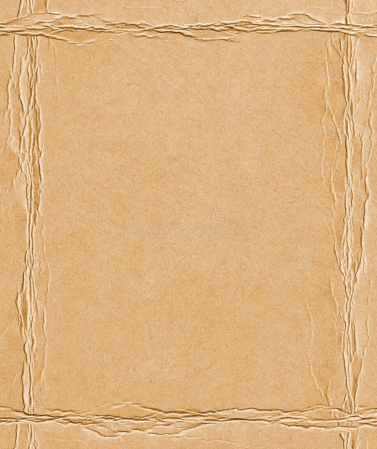 Papierknick stockfoto