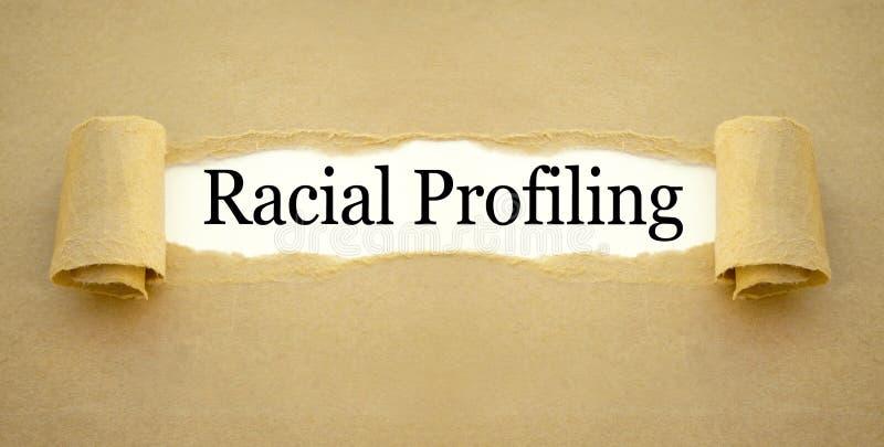 Papierkowa robota z rasowy profilować fotografia royalty free