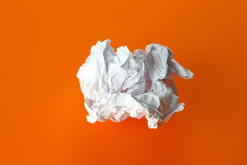 Papierkugel stockbilder