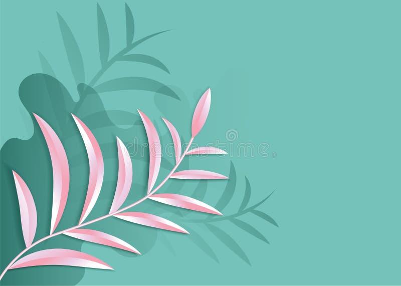 Papierkunst im Zusammenfassungsvektor der Art 3d schnitt Hintergrund Linie Wellenabdeckungsdesign für Tapete Moderne Schablone de lizenzfreie abbildung