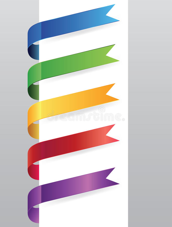 Papiermarke vektor abbildung