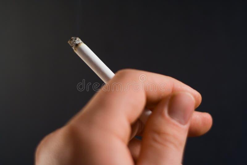 papieros oświetlone zdjęcia stock
