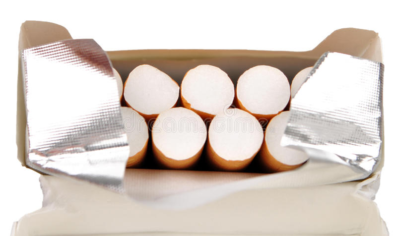 papieros paczka obraz stock