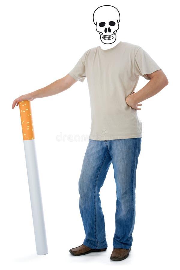 papierosa trupami zdjęcie royalty free