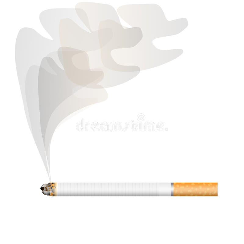 papierosu dym ilustracji