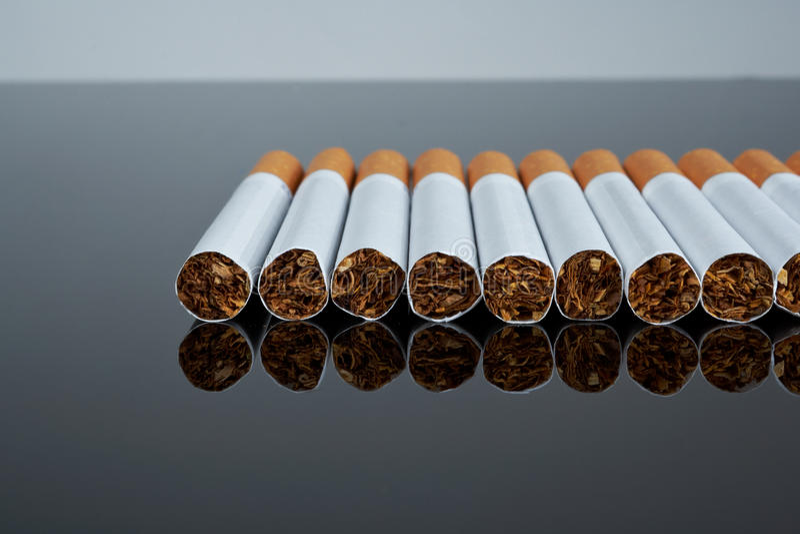 papierosu filtr zdjęcia royalty free