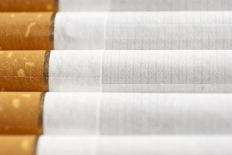 papierosu rząd fotografia stock