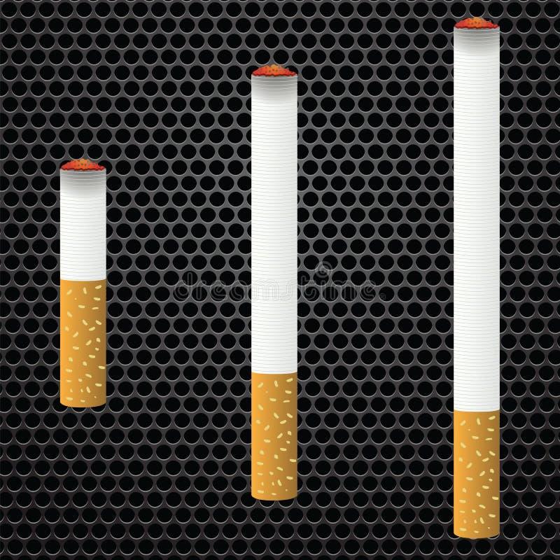 papierosy royalty ilustracja