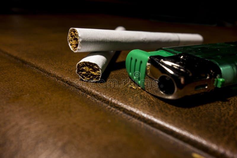 papierosy zdjęcia stock
