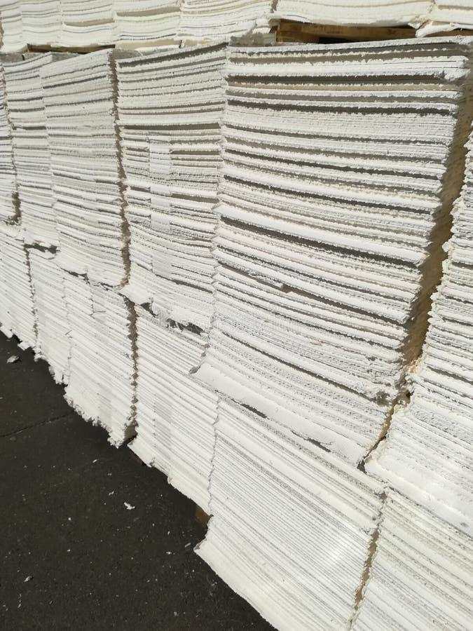 Papierowa braja dla papierowego przemysłu, surowy papier obrazy stock