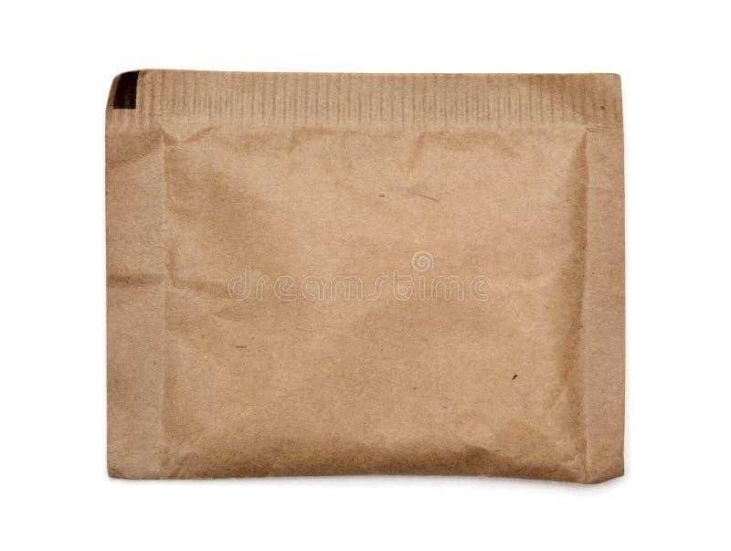Papierowa Brown torba fotografia stock