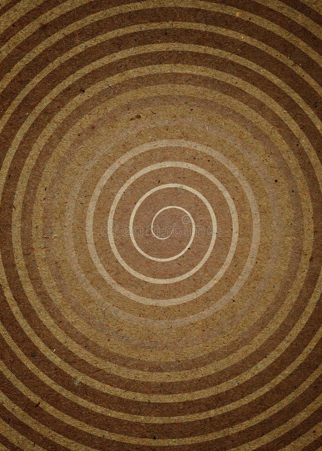 papierowa spirala ilustracja wektor