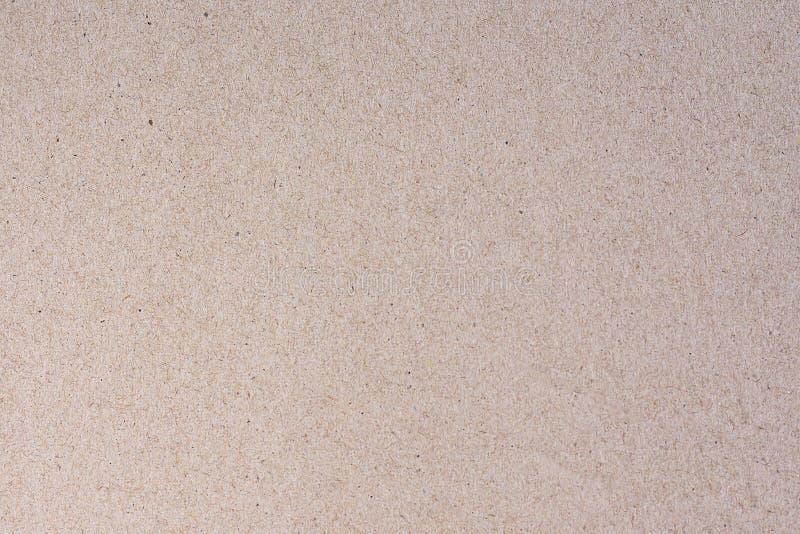 Papierowa tekstura - brown papierowy pudełko obraz stock