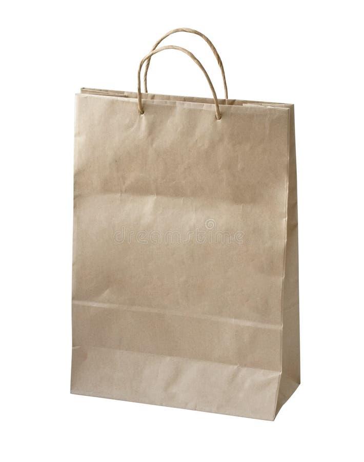 Papierowa torba obrazy royalty free