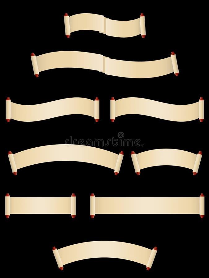 papierowe ślimacznicy royalty ilustracja
