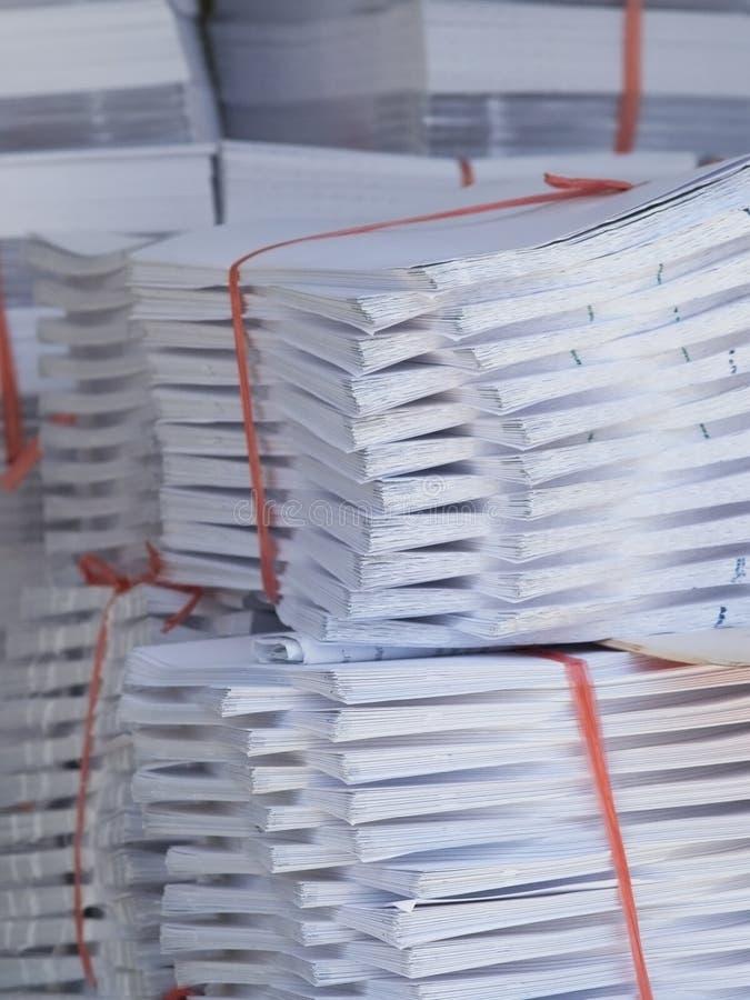 papierowe printshop doków obrazy royalty free
