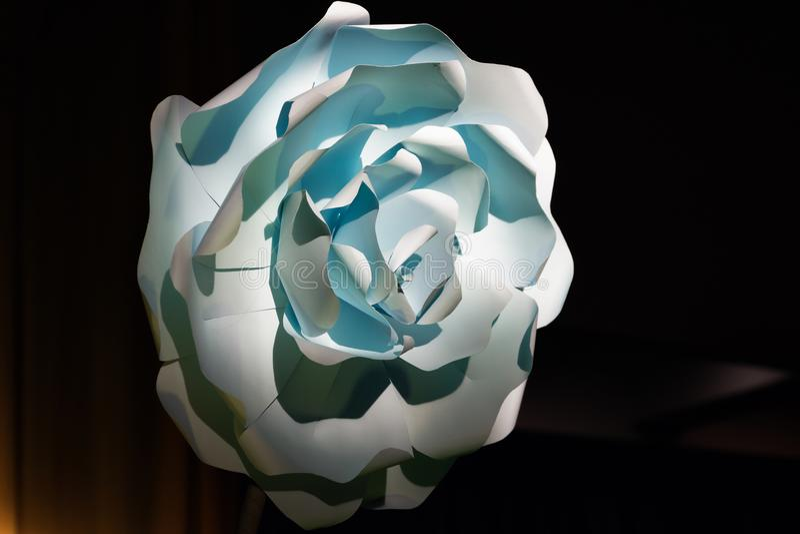 Papierowego kwiatu dekoraci pomysły fotografia stock