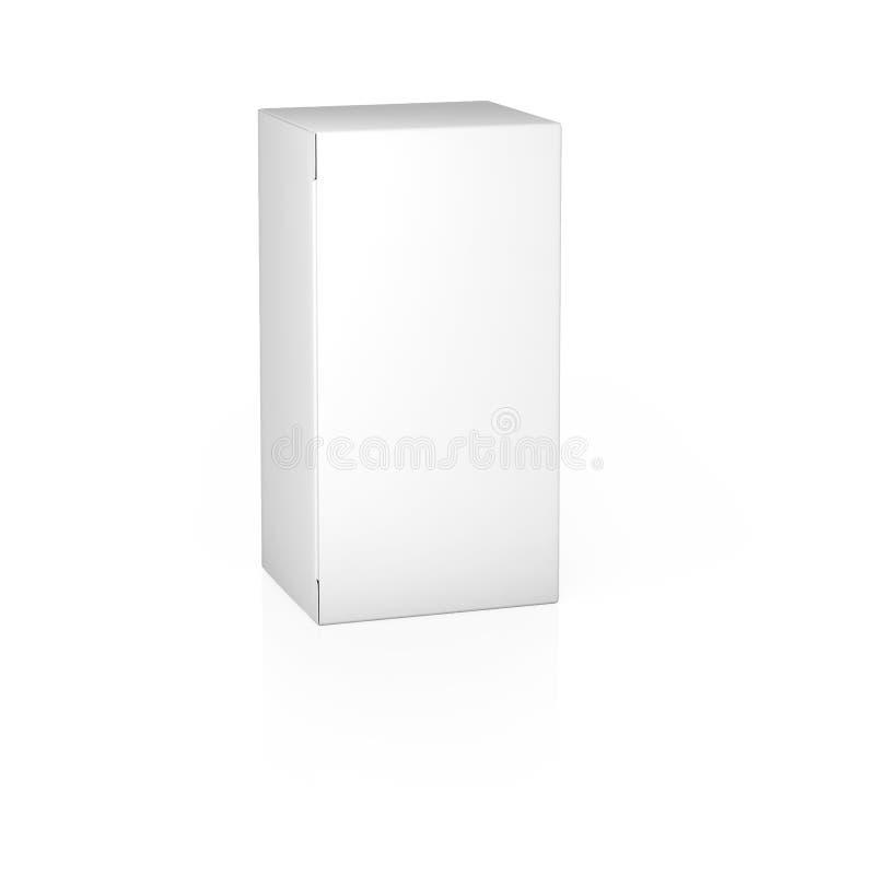 Papierowego pudełka szablon obrazy stock