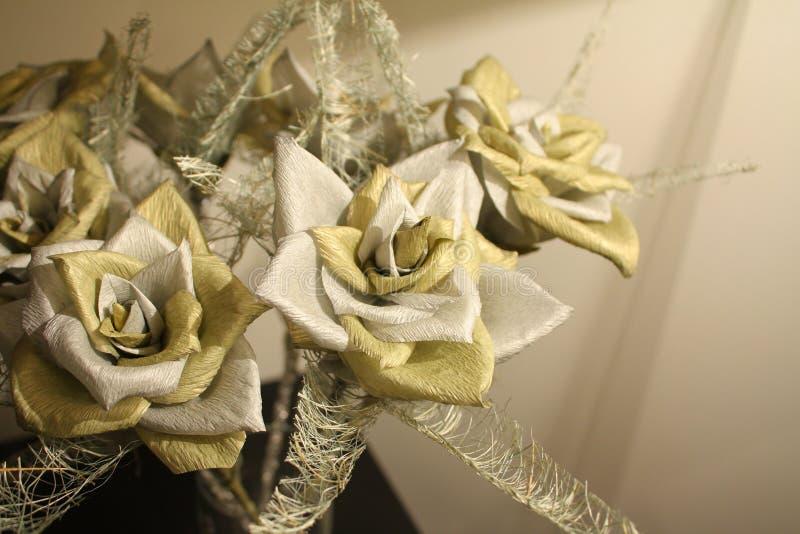 Papierowi kwiaty zdjęcie royalty free