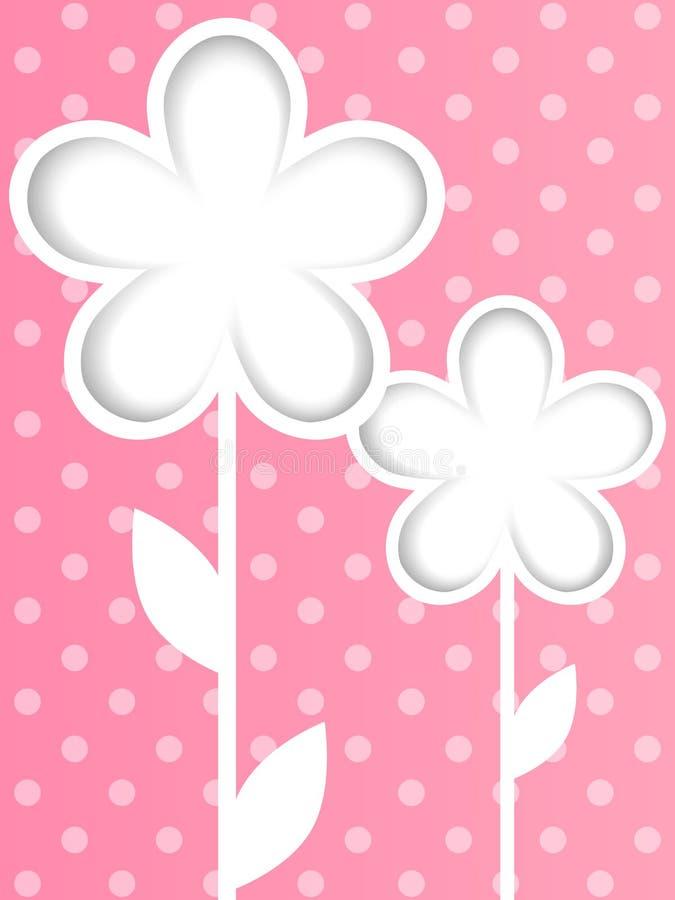 Papierowi tulipany ilustracji