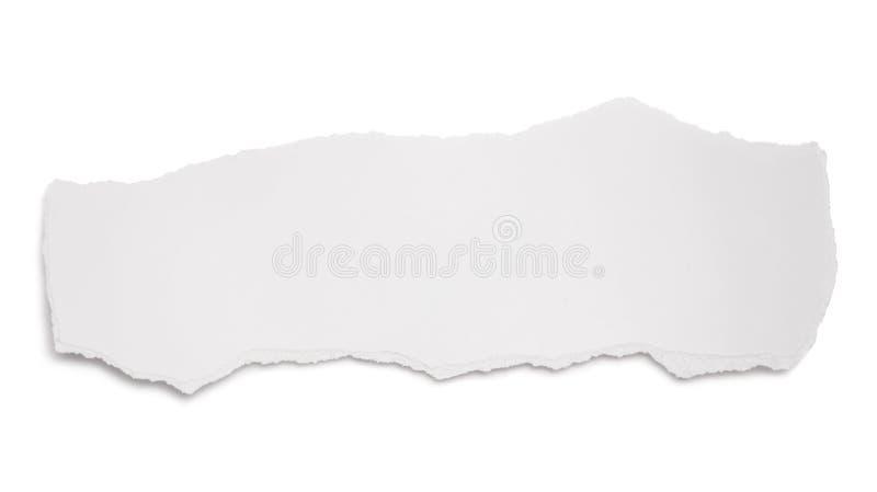 papierowy świstek obrazy stock