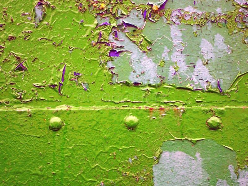 papierowy świstek na zieleni fotografia royalty free