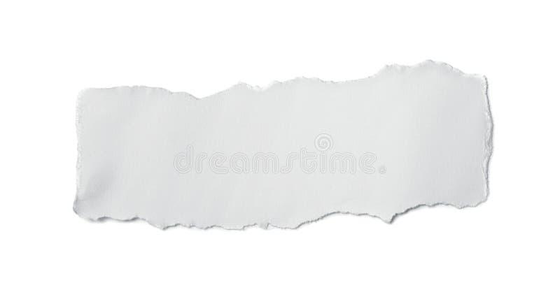 papierowy kawałek fotografia stock