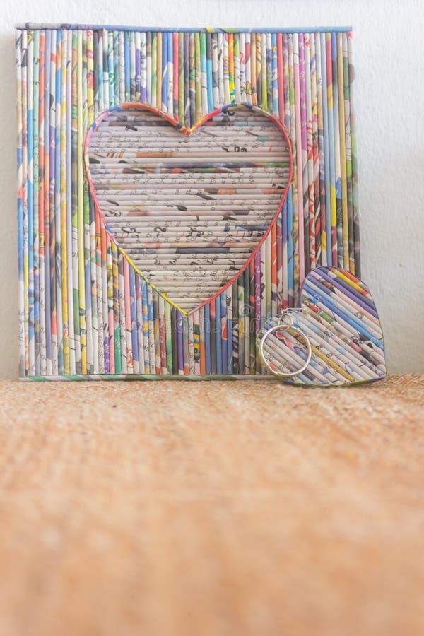 Papierowy kierowy tekstura wzoru tło dla odchwaszczać karty lub valentines dzień zdjęcia royalty free
