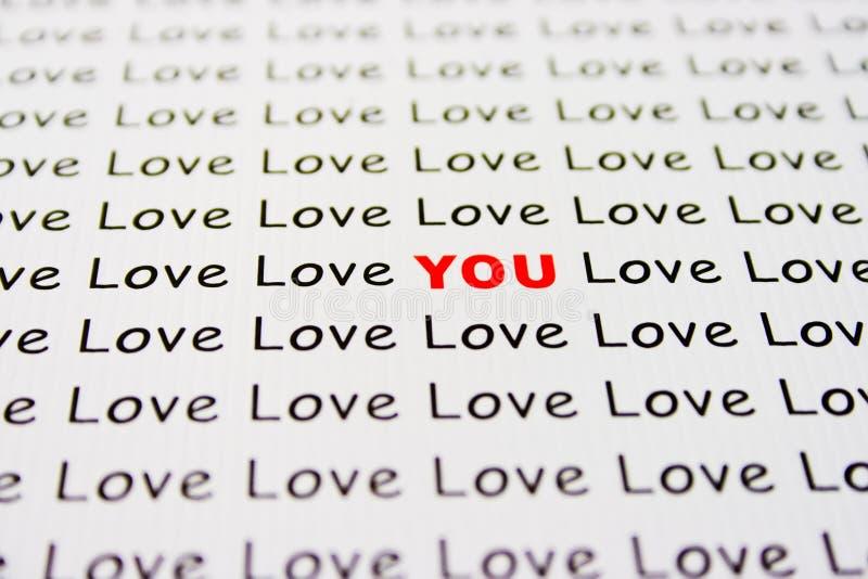 papierowy miłość tekst zdjęcia royalty free