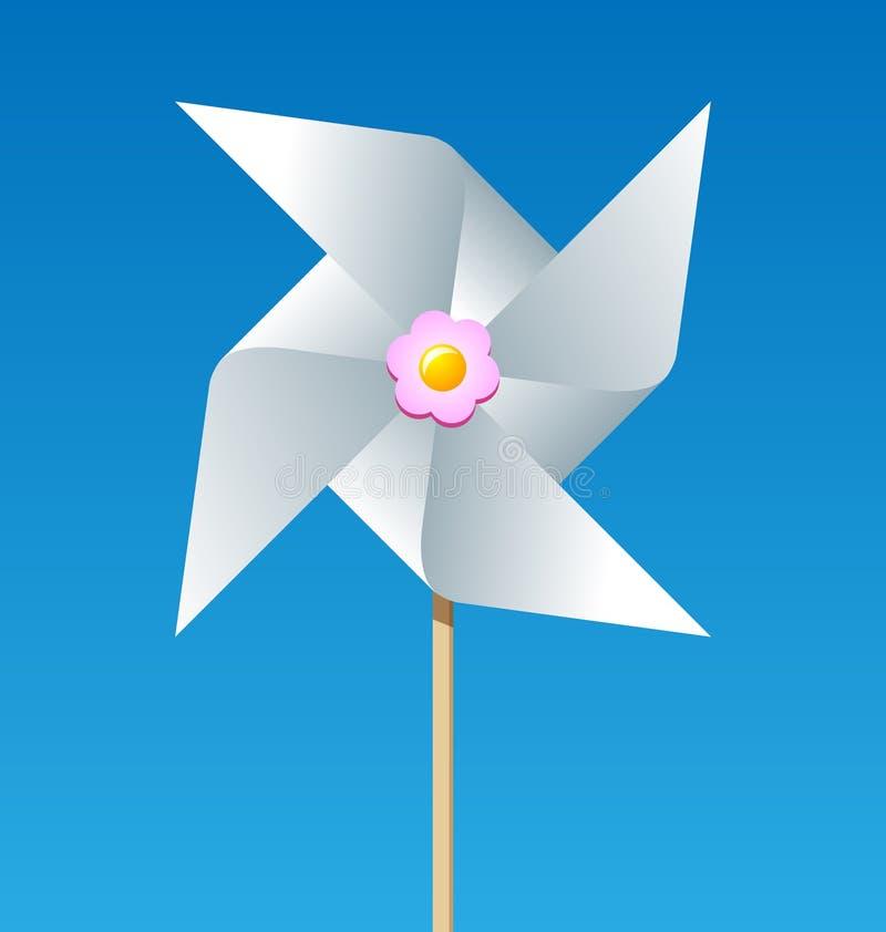 papierowy pinwheel royalty ilustracja