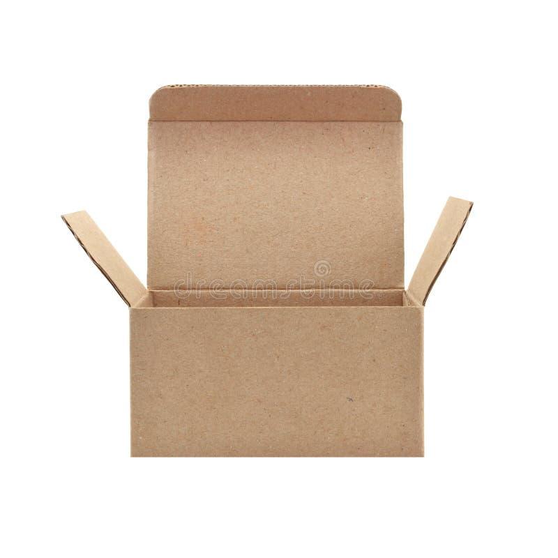 Papierowy pude?ko fotografia stock