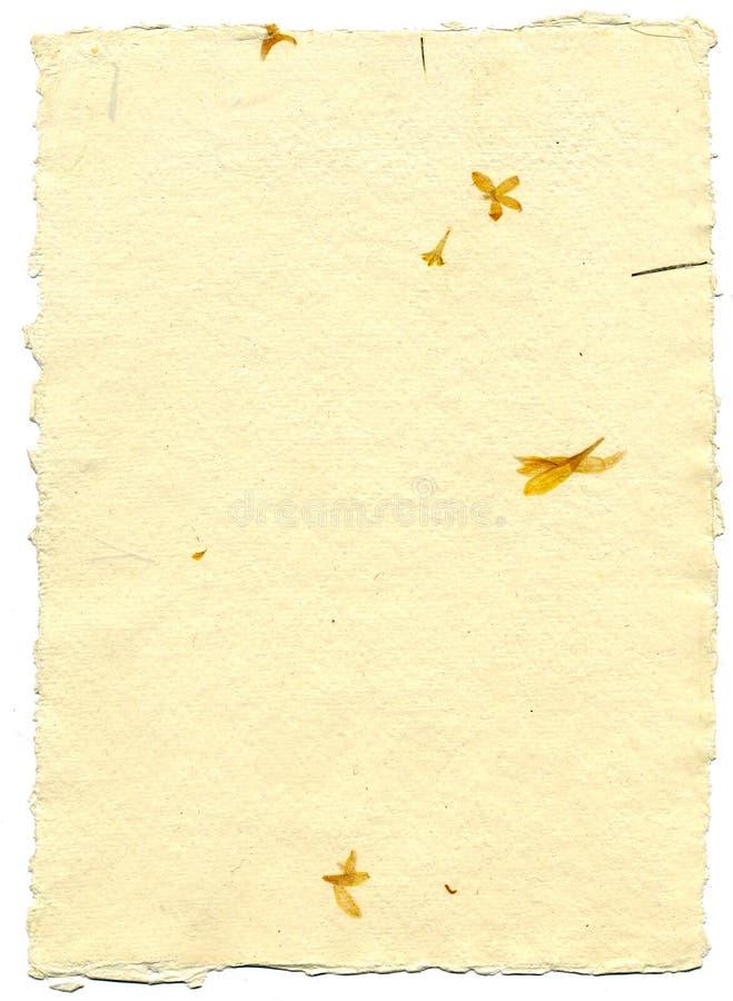 Papierowy ręcznie robiony zdjęcia stock