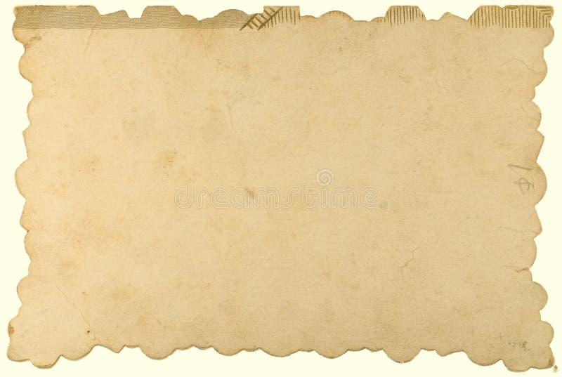 papierowy rocznik obraz royalty free