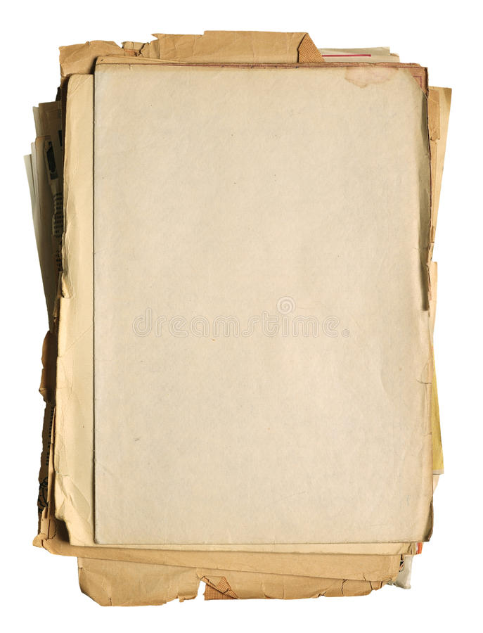 papierowy rocznik obrazy stock