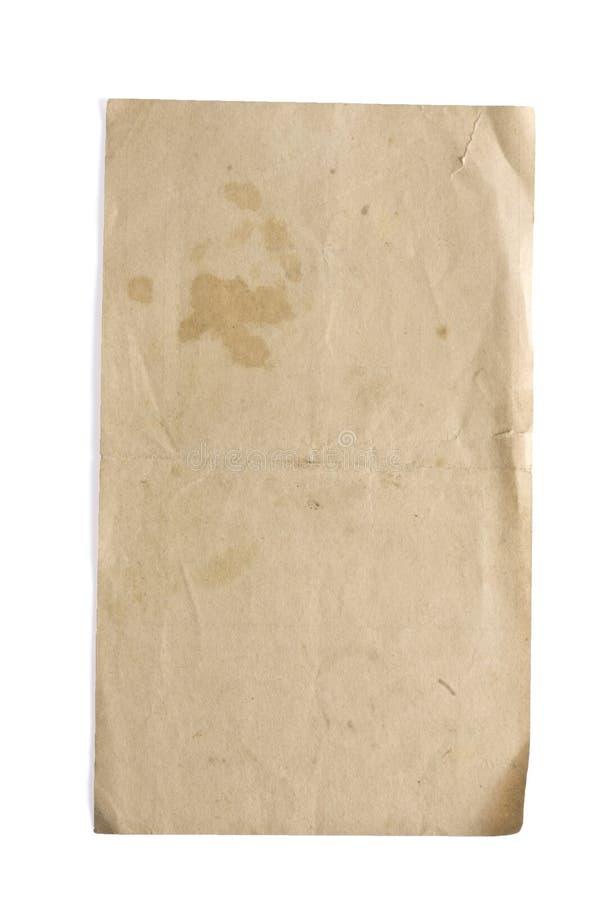 papierowy rocznik zdjęcia stock