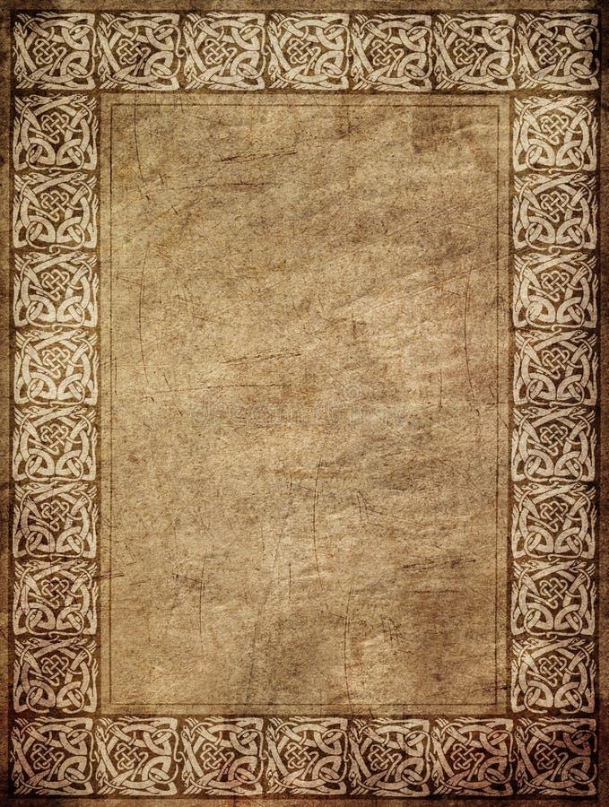 papierowy rocznik royalty ilustracja