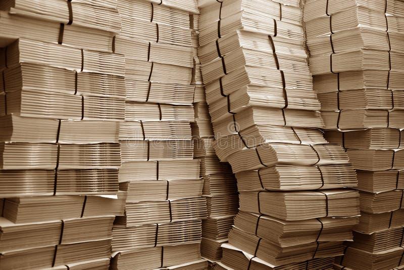 papierowy stos obrazy royalty free