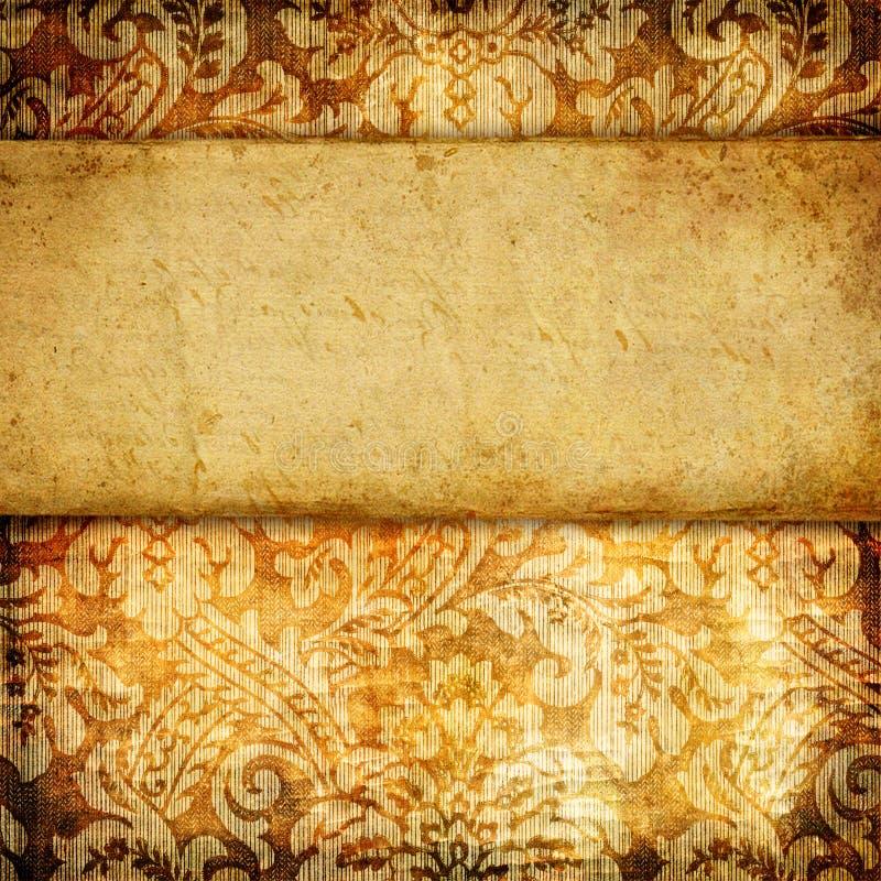 papierowy tło rocznik ilustracja wektor