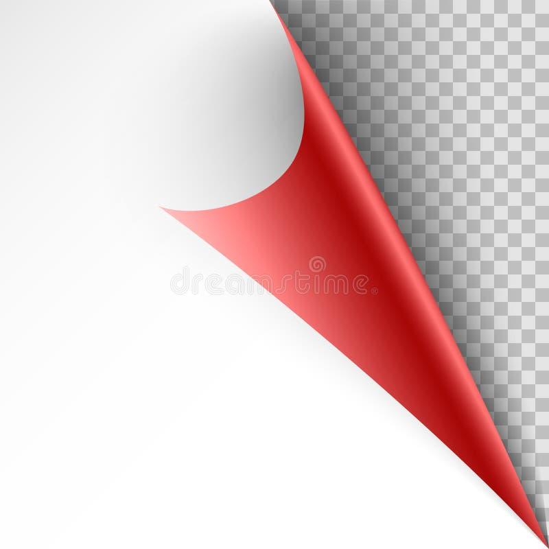 Papierowy twirl szablon dla ciebie pomysł ilustracja wektor
