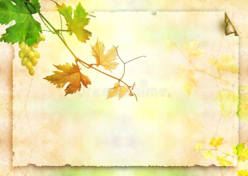 papierowy winograd royalty ilustracja