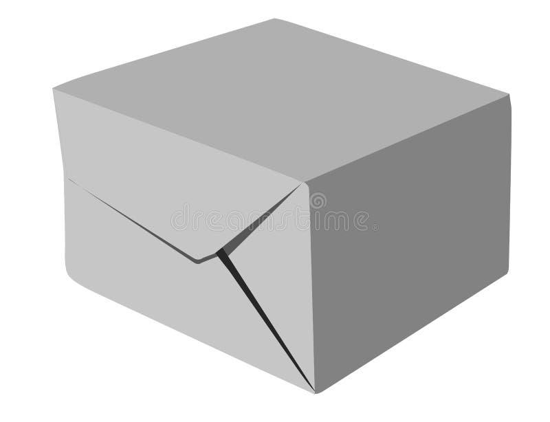 Papierpaket lizenzfreie abbildung