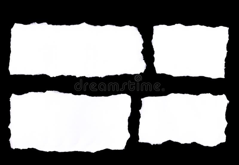 Papierrisse lizenzfreie stockfotografie